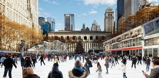 winter village bryant park new york