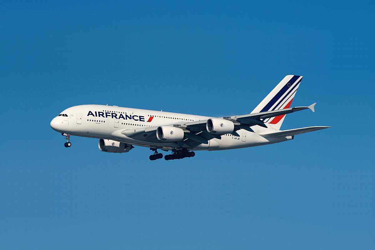 air france A380 new york
