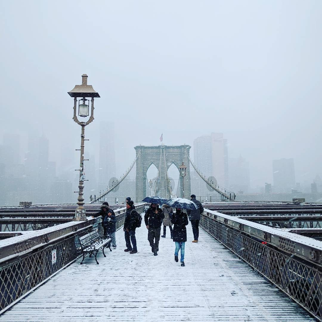 neige new york