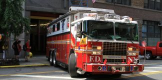 camion pompiers new york