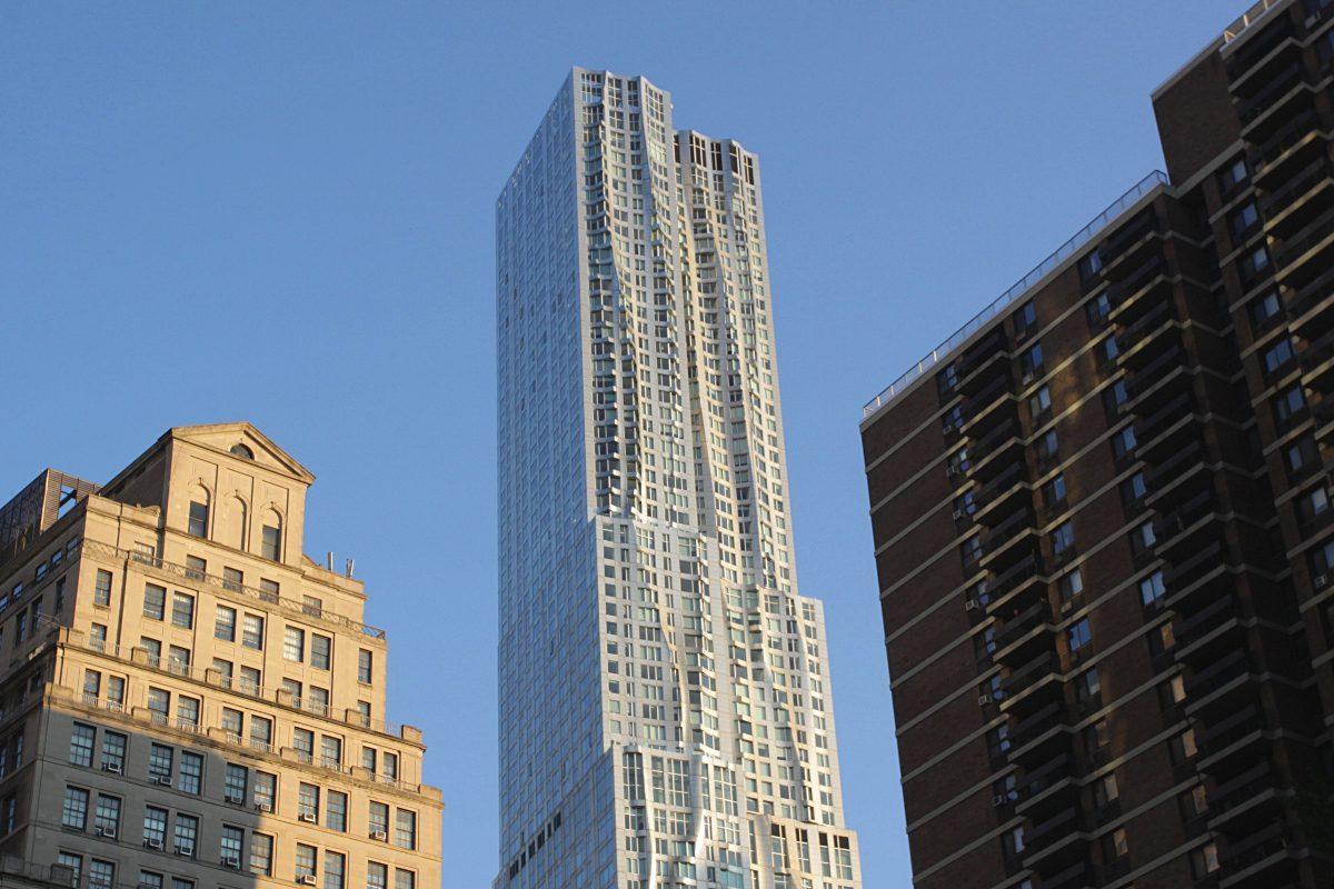 8 Spruce Street, la tour qui danse à New York