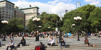union square park new york
