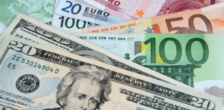 change euro dollar