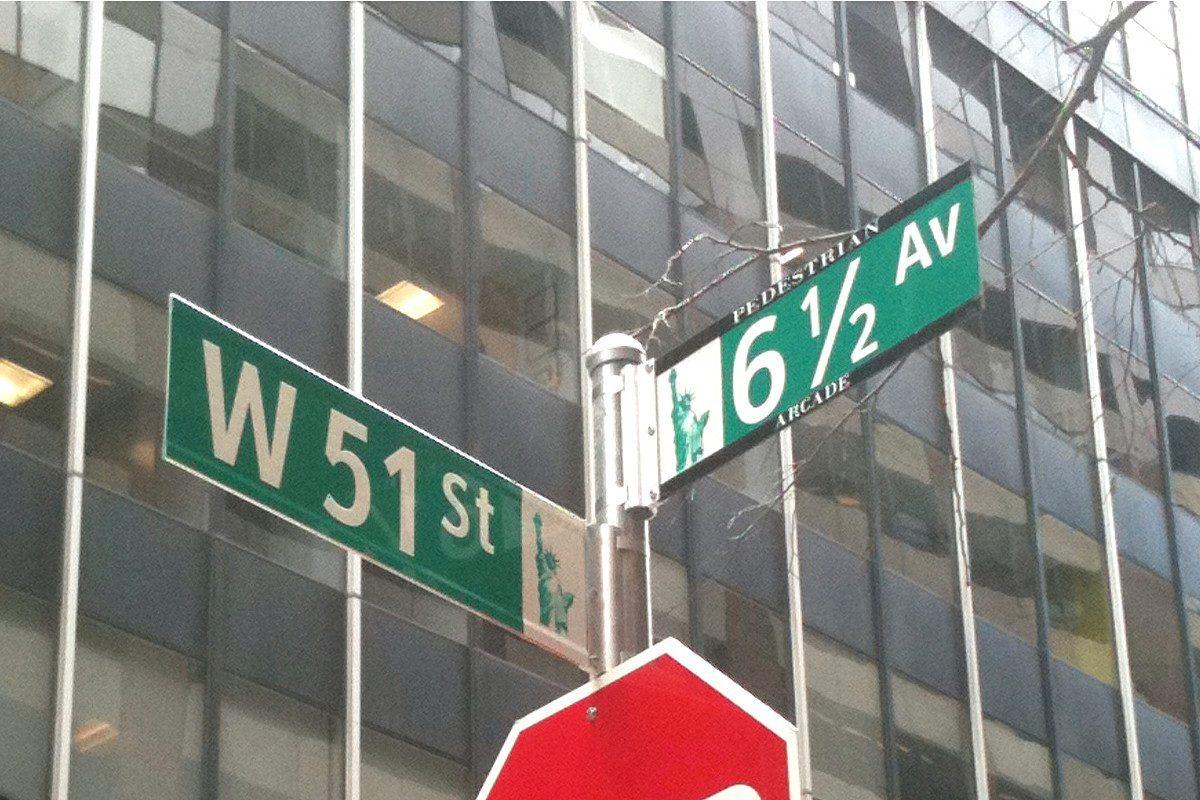 6 avenue et demi cachée