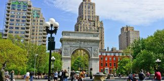 washington square arch new york