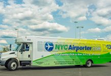 airport express bus new york JFK
