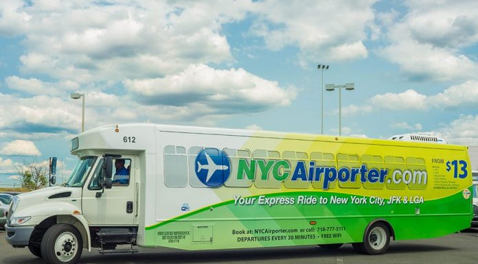 airport express bus new york JFK