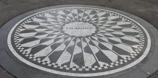 Imagine central park New York