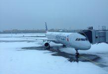 JFK neige