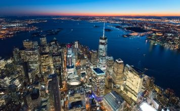 helicoptere new york nuit