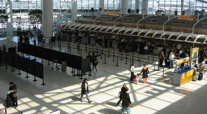 Le Terminal 4 de l'aéroport de New York JFK.