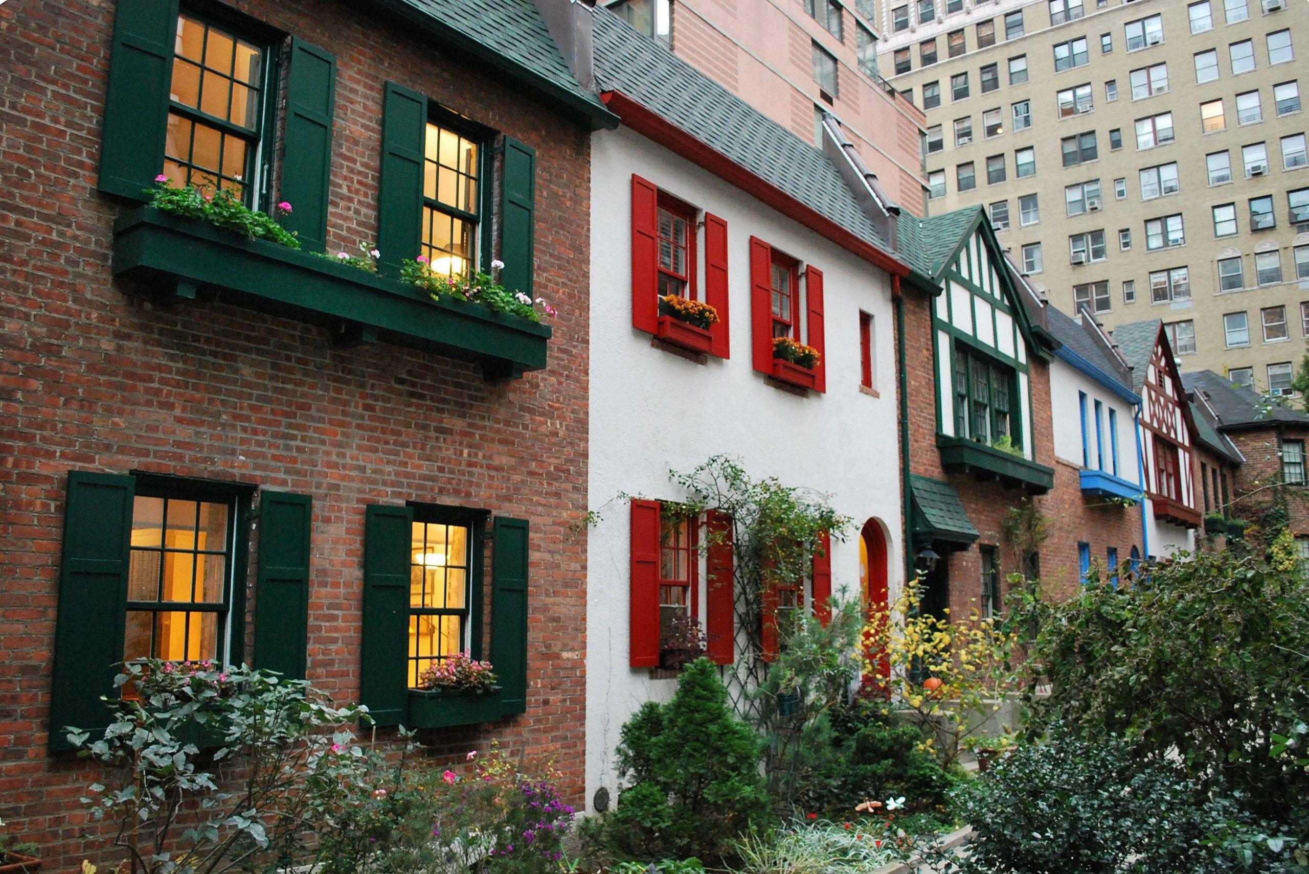 Pomander Walk, une ruelle secrète en plein New York