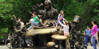 alice pays merveilles central park