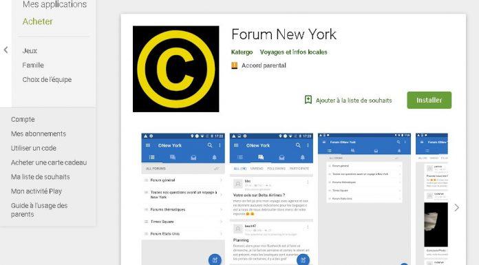 appli forum new york