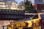 Visite de New York de nuit à bord d'un bus panoramique