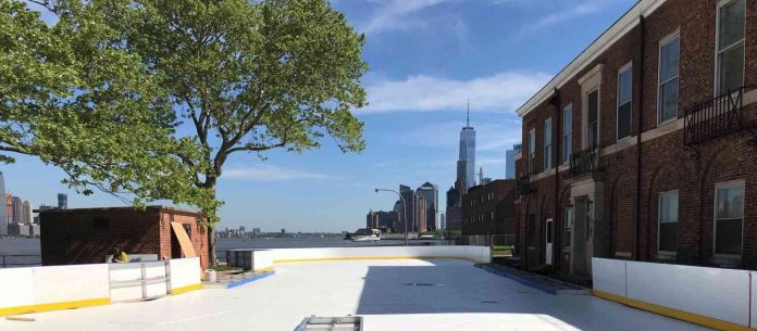 governors island patinoire