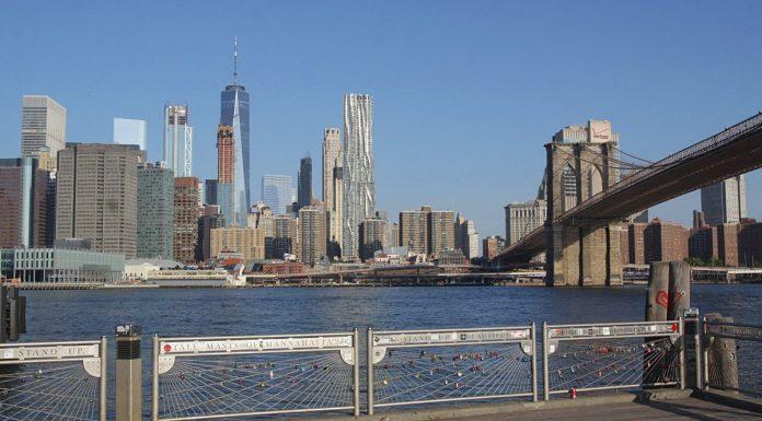 skyline new york brooklyn