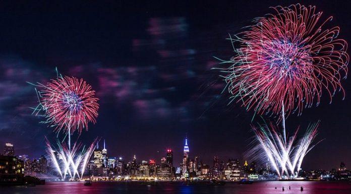 feu artifices new york 4 juillet
