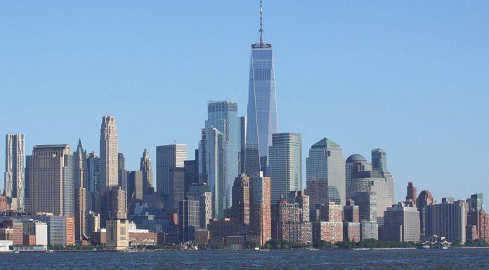 new york skyline downtown