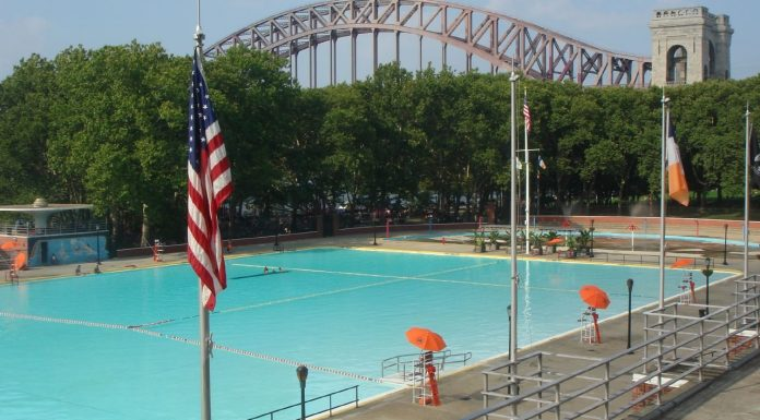 astoria pool new york usa