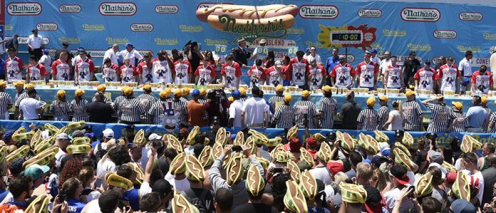 concours hot dog new york