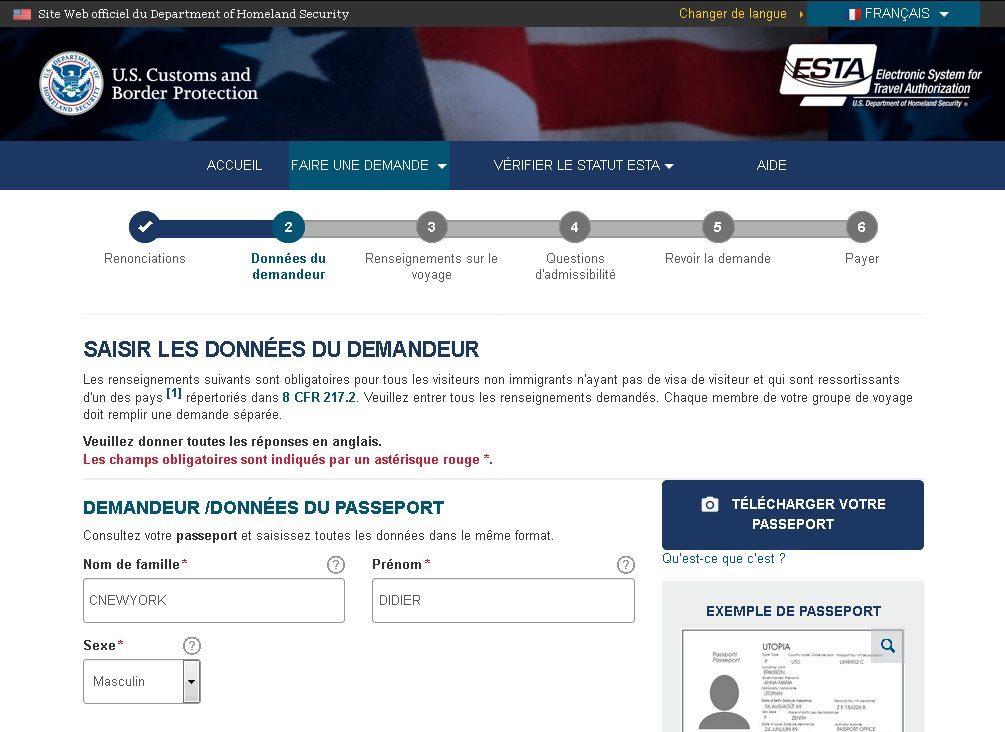 Qu'est-ce que l'autorisation de voyage ESTA ?