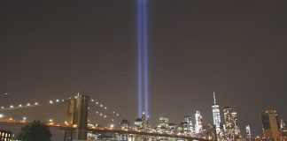 new york tribute in light