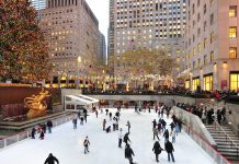patinoire rockefeller center