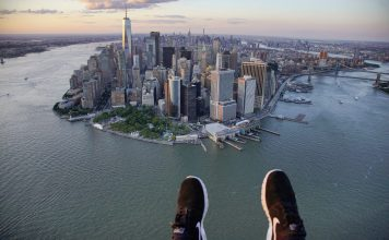 survol helicoptere new york
