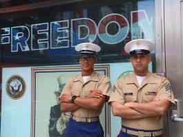 US marines new york