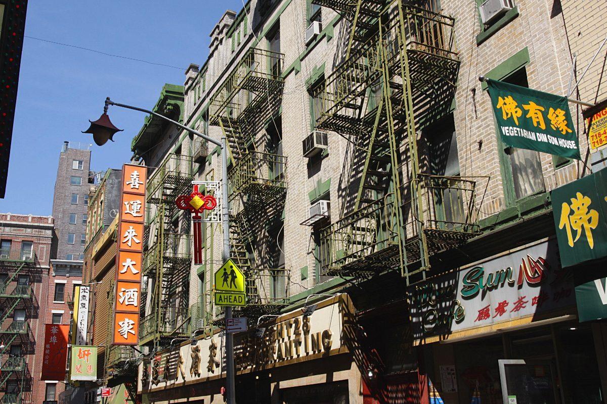 Chinatown, le quartier chinois de New York