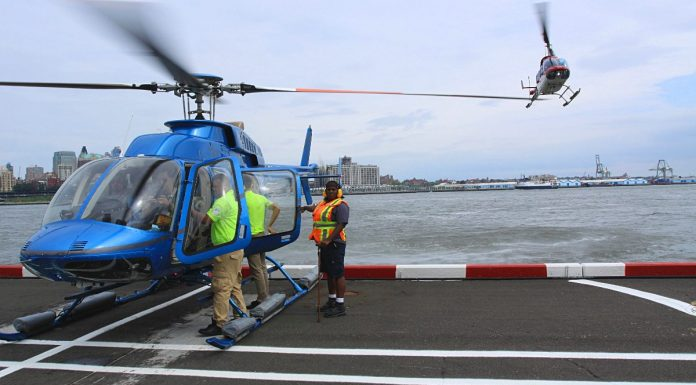 transfert helicoptere new york