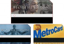 metrocard game of thrones