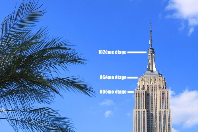 empire state building etages