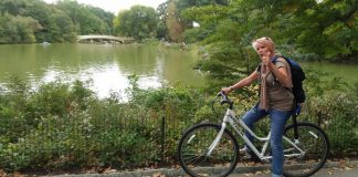 location velo central park