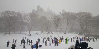 neige Central Park