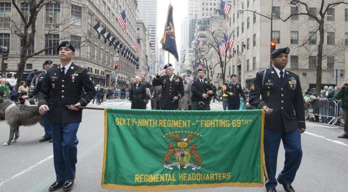 parade de la Saint-Patrick à New York