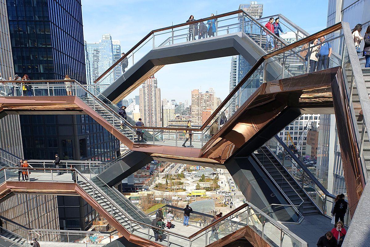 J'ai testé pour vous… les escaliers du Vessel de New York