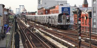 metro new york aerien