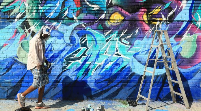wellington street mural
