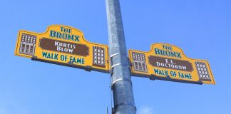 walk of fame bronx new york
