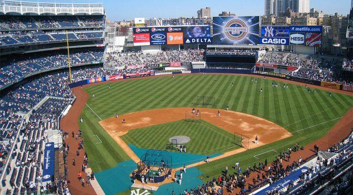 baseball new york yankee stadium