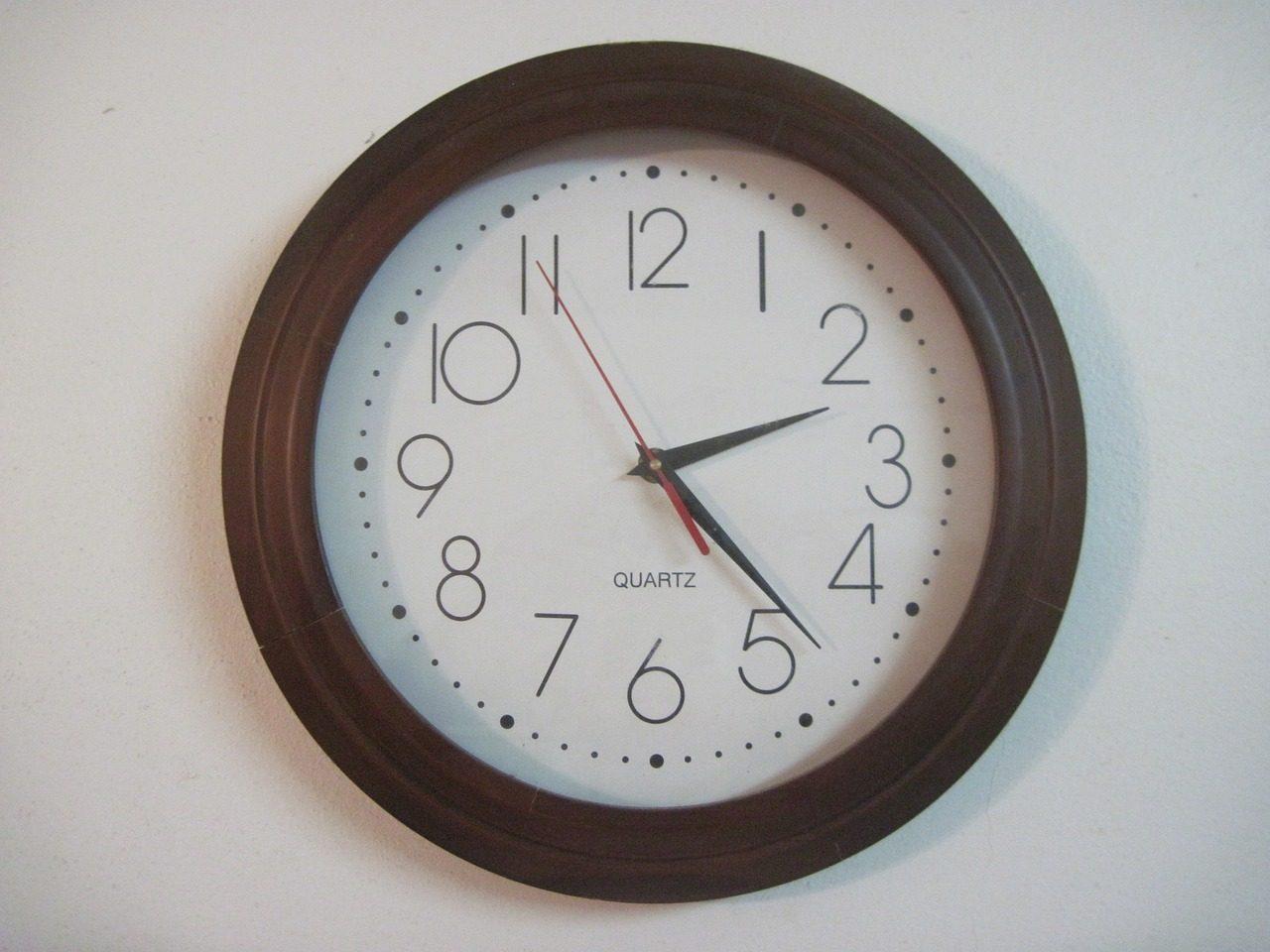 Les dates des changements d'heure en Europe et aux USA