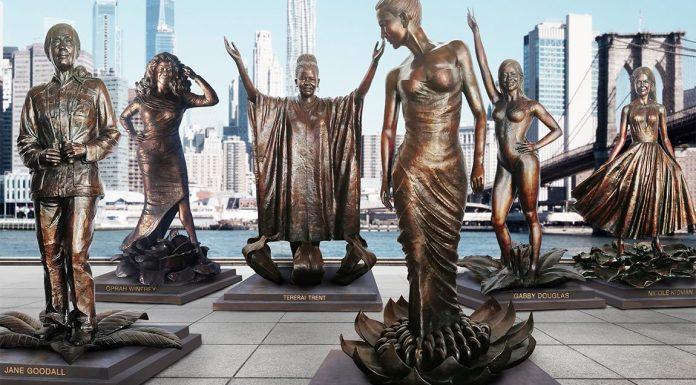 statues femmes new york