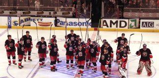 hockey sur glace new york rangers