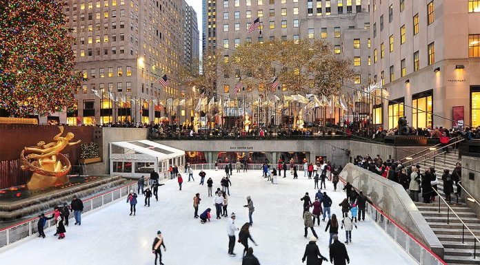 patinoire rockefeller center new york