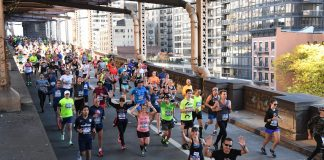 Marathon de New York : pont de Queensboro