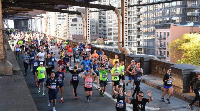 Marathon de New York : pont de Queensboro