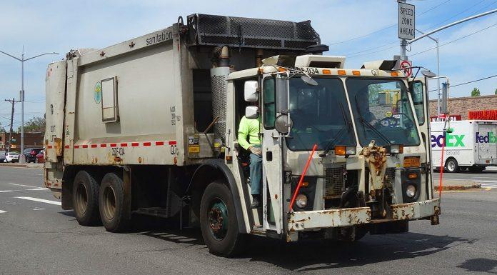 camion poubelles new york