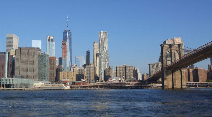 Financial District depuis Brooklyn
